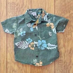 Gymboree Toddler Hawaiian Shirt